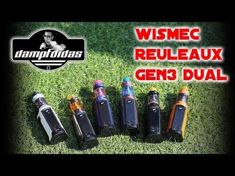 Wismec Reuleaux Gen3 Dual - Kleinster Dual 18650 Akkuträger?? 😍 FlipFlop Lackierung 😍
