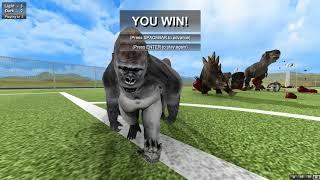 Футбол с Динозаврами Beast Battle Simulator