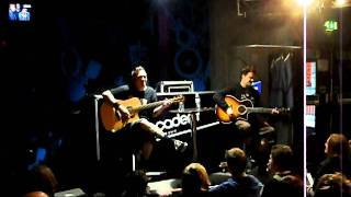 Jaret and Erik (BFS) - Guard My Heart (acoustic) Oxford O2 -  22/10/2011