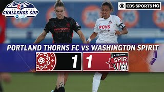 2020 NWSL Highlights: Portland Thorns FC vs. Washington Spirit | CBS Sports HQ