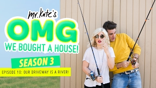 Our Driveway Is a River! | OMG We Bought a House!