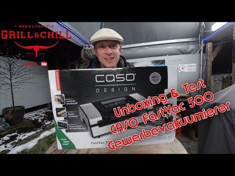 📷 Unboxing | Test CASO FastVac 500 Gewerbevakuumierer 🎬