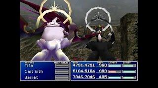 Final Fantasy VII: New Threat Mod- Binah Boss Fight (KOR Mat