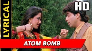 Atom Bomb With Lyrics | Alka Yagnik, Abhijeet Bhattacharya