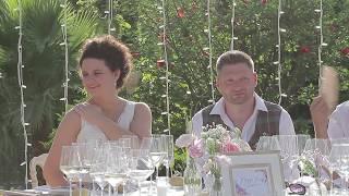 Jenna David Spain Wedding At Lew Hoad Tennis Club