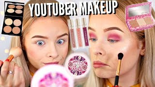 YOUTUBER MAKEUP COLLABS!! WHAT DO I THINK.. | sophdoesnails