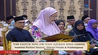 New Cabinet members sworn in, including country's first female Deputy PM