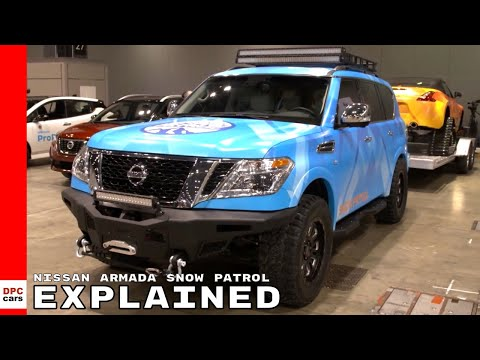 Nissan Armada Snow Patrol Explained
