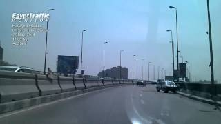 preview picture of video '1405271108: Accident @ 6th of October Bridge, Hadaye El-Oubba'