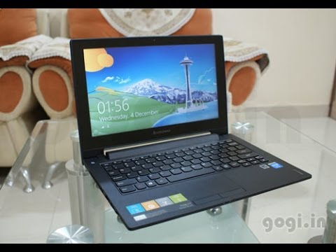 Lenovo IdeaPad S210T touch laptop unboxing and review