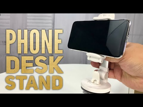 Foldable Desk Phone Holder with Suction Cup by Kicoeon Review