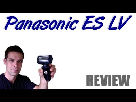 Panasonic ES LV81 K and 61 A  - 5 Bladed Shaver Review