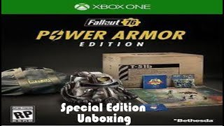 Fallout 76 T-51 Power Armor Collectors Edition (Xbox One)