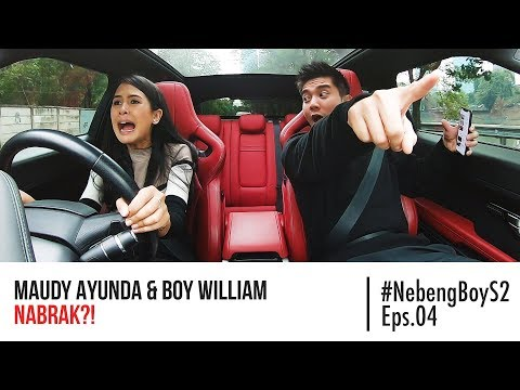 Maudy Ayunda HAMPIR NABRAK Nyupirin Boy William - #NebengBoy S2 Eps. 4 - Boy William