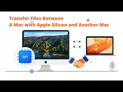 Transfer files from M1 Mac to another Mac