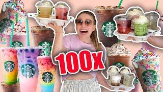 Ich lade 100 Menschen bei Starbucks ein 😳 | Bibi