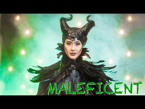 Maleficent Body Paint Photo Shoot