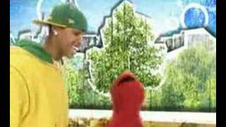 Chris brown and elmo see the signs