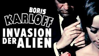 Boris Karloff - Invasion der Alien (HORROR   Sci-Fi Filme in voller Länge   Spielfilme kostenlos)
