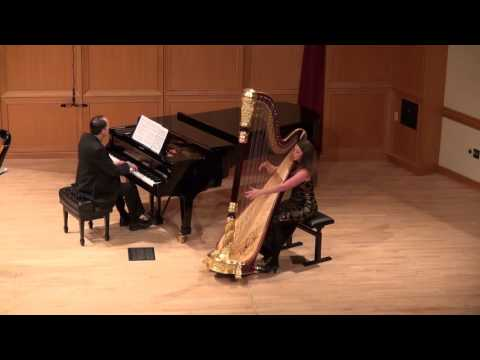 Harp Concerto in A Major by Carl von Dittersdorf. Performed for my graduate harp performance recital