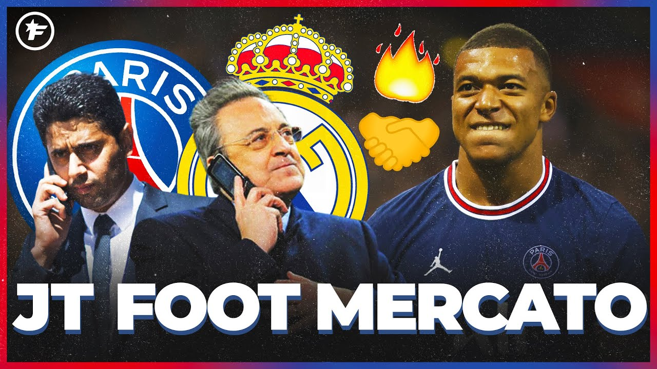 Kylian Mbappé met la PRESSION sur le PSG  JT Foot Mercato