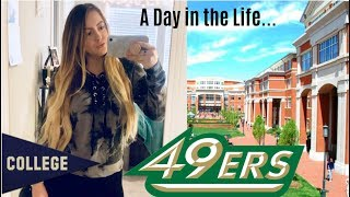 A Day in the Life of a College Student || UNC Charlotte