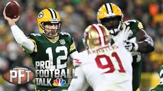 Another Aaron Rodgers comeback shows importance of QB I Pro Football Talk I NBC Sports