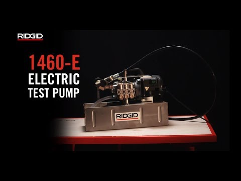 RIDGID 1460-E Electric Pressure Test Pump