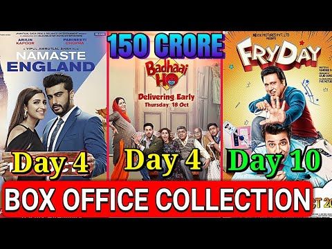 Namste england box office collection | Badhaai Ho box office collection Day 4 | Fryday total collect