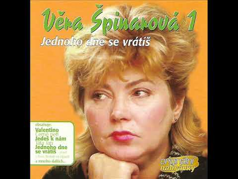 Věra Špinarová - Jednoho dne se vrátíš (CD- 2003)