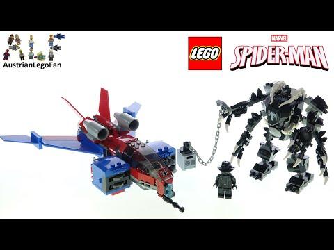 Vidéo LEGO Marvel 76150 : Le Spider-jet contre le robot de Venom