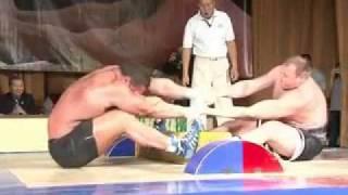 Мас-рестлинг Сидорычев & Колибабчук 2010 Mas-wrestling. Sidorychev & Kolibabchuk 2010
