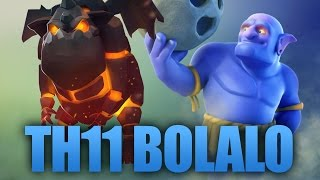 TH11 War Attack | Bolaloon Strategy | Clash Of Clans