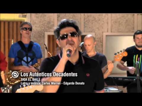 HD Siga el baile - Los Auténticos Decadentes [Encuentro en el Estudio] 18-05-2013