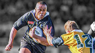 The SCARY BEAST Of Old School Rugby | Jonah Lomu Violent Big Hits & Brutal Bump Offs In Rugby