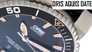 Oris Diving Aquis Date 01 733 7653 4159 - reloj automático de buceo