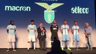 Presentazione maglie 2017/2018 S.S. Lazio