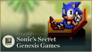 Sonic's Secret Genesis Games | Gaming Historian