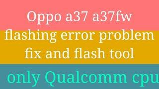 fix qfil tool sahara fail error - Kênh video giải trí dành