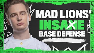 MSI 2021 : League Mixtape - MAD Lions' INSANE Base Defense