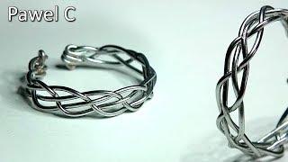 Braided Wire Ring | DIY