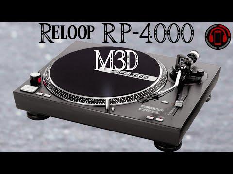 Reloop RP-4000 M3D Plattenspieler Review [Deutsch/German]