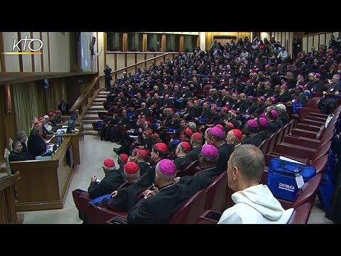 Clôture des travaux de la XV Assemblée générale ordinaire du Synode des Évêques