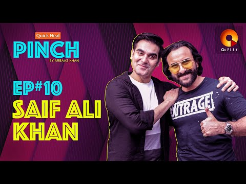 Saif Ali khan | Quick Heal Pinch by Arbaaz Khan | QuPlayTV
