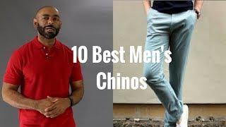 10 Best Mens Chinos ( Best Mens Khakis)