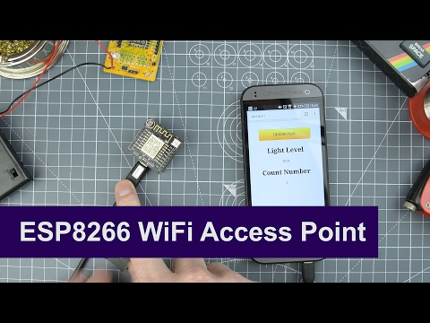 ESP8266 Web Sever tutorial