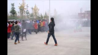 preview picture of video 'Silly China - China Fire Safety Day for Students'