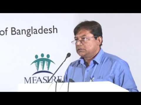 Dr. Kazi Mustafa Sarwar, Director General of Family Planning (DGFP), Bangladesh