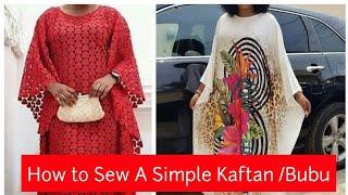 Easiest Way To Sew A Simple Kaftan On YouTube