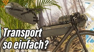 Transporttaschen für dein Bike - PRO Packtaschen - vit:bikesTV
